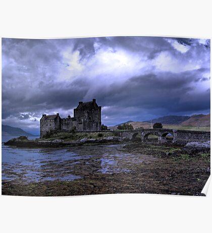 Touched by Heaven (Eilean Donan Castle) Poster