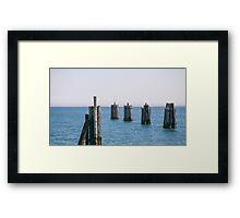 Orient Point, Long Island Framed Print