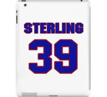 National football player Sterling Moore jersey 39 iPad Case/Skin