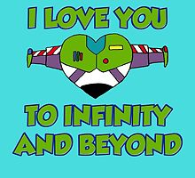 Infinity and beyond by HaLucyNation