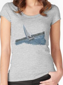 Utopia! Women's Fitted Scoop T-Shirt