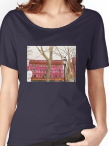 pratt institute library Women's Relaxed Fit T-Shirt