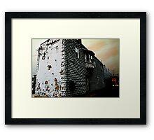 Loudonville battleship Framed Print