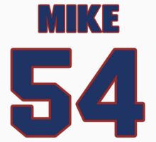 National football player Mike McGraw jersey 54 by imsport