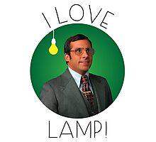I love lamp Photographic Print