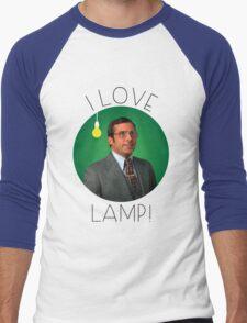 I love lamp Men's Baseball ¾ T-Shirt