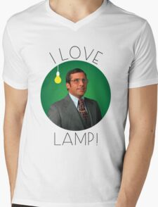 I love lamp Mens V-Neck T-Shirt