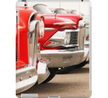 Edsel Meeting. iPad Case/Skin