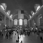 Grand Central Terminal by Anders Hollenbo