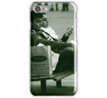 Taking a break iPhone Case/Skin