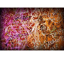 Grunge Background 3 Photographic Print