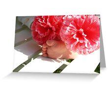 Precious Baby Feet Greeting Card