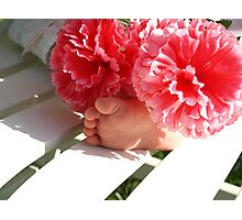 Precious Baby Feet Photographic Print