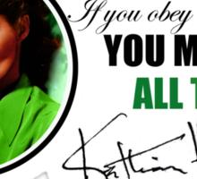 Katharine Hepburn Sticker