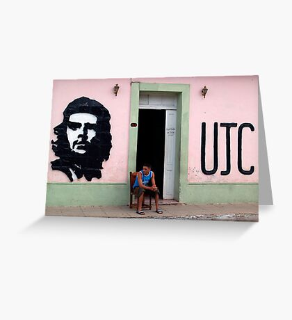 Che Seat Greeting Card
