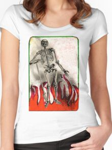 Dead Man's Party Women's Fitted Scoop T-Shirt