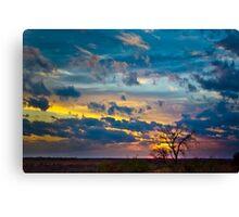 Sunset at DSR Ranch I Canvas Print