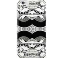 lady with fan iPhone Case/Skin