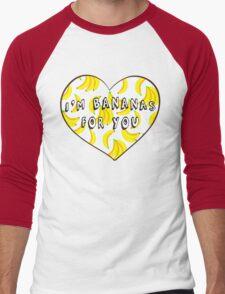 I'm Bananas For You Men's Baseball ¾ T-Shirt