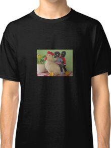 Gollies riding a Chicken Classic T-Shirt