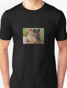 Gollies riding a Chicken Unisex T-Shirt
