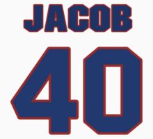 National football player Jacob Hester jersey 40 by imsport