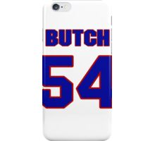National football player Butch Riley jersey 54 iPhone Case/Skin