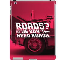 Back To The Future Multiply iPad Case/Skin