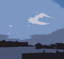 Leith Docks by DoreenPhillips