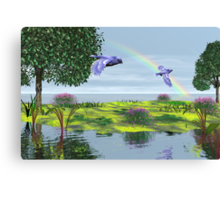 Happiness Isle Canvas Print