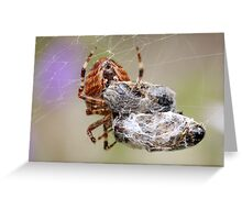 double portion Greeting Card