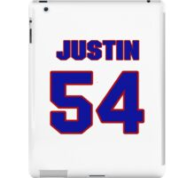 National football player Justin Snow jersey 54 iPad Case/Skin