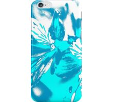 Homescape - blue and white orchid 2 iPhone Case/Skin