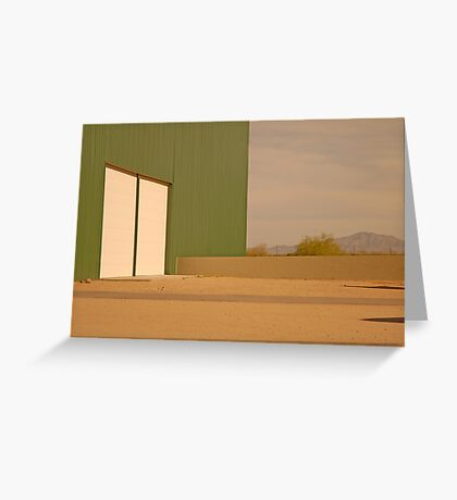 Abstract Arizona Greeting Card