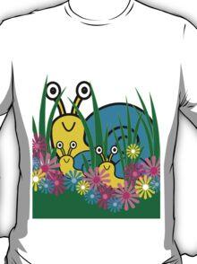 Peek-A-Boo Snails T-Shirt