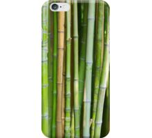 Bamboo Background iPhone Case/Skin