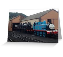 Blue One The Tank Engine Greeting Card