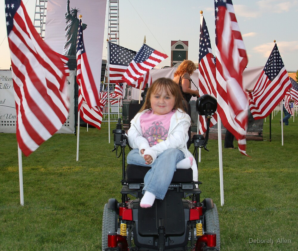 A Beautiful Little Patriot by Deborah  Allen