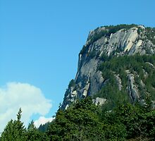"""""""The Chief"""" in Squamish, BC by Carmen Hellofs"""