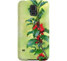 Holly Branch  Samsung Galaxy Case/Skin