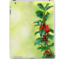 Holly Branch  iPad Case/Skin