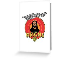 Looney Reigns Greeting Card