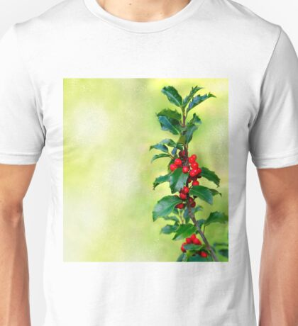 Holly Branch  Unisex T-Shirt