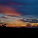 Sunset before the storm by Jim Caldwell