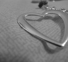 Heart in Macro and BW by mwawrzyniak
