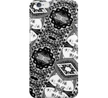 QUEEN OF SPADES-LARGE iPhone Case/Skin