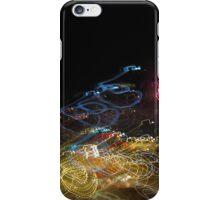 Fireworks in the night sky iPhone Case/Skin