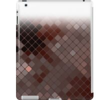 Homescape - Mosaic in earth tones with vignette iPad Case/Skin