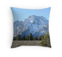 """Grand Teton Range"" Throw Pillow"