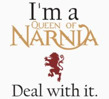 Deal with it: The Chronicles of Narnia by Adam Dens